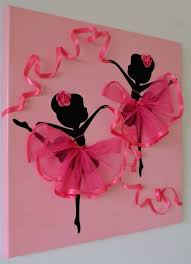 handmade things for wall decoration remarkable ballerina