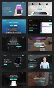 unicore mobirise builder with 20 html bootstrap landing page