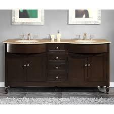 72 Inch Double Sink Bathroom Vanities Silkroad Exclusive Pomona 72 Inch Double Sink Bathroom Vanity