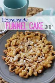 making homemade funnel cake bites baking ideas pinterest