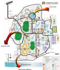 Iit Campus Map Home Spie Iitg Student Chapter