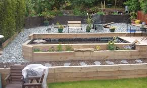 Gardens With Sleepers Ideas Gardens With Sleepers Ideas Garden Sleepers Ideas Railway
