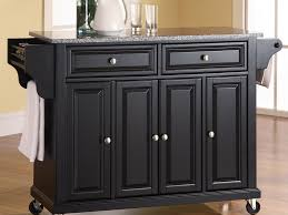 kitchen cart kitchen island with rectangular table top and