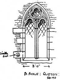 tracery designs similar treatment is adopted for the windows in