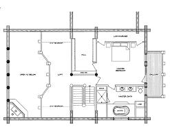 log home floor plan mountaineer