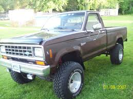 ford ranger lifted 1983rangerlifted 1983 ford ranger regular cab u0027s photo gallery at