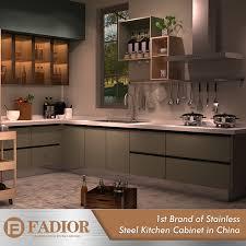 custom metal kitchen cabinets modern furniture custom designs metal kitchen cabinets made in china