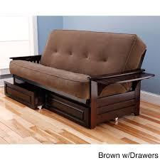 queen size futon frame and mattress set divat us