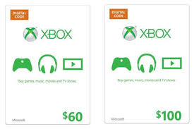 xbox live gift cards 60 microsoft xbox live gift card only 53 or 100 xbox live gift