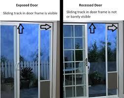 Security Bars For Patio Doors Fantastic Pet Patio Door With Pet Door Security Sliding Door