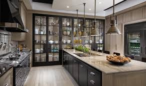 Kitchen Showroom Ideas Kitchen Amazing Glass Cupboards And Elegant Custom Kitchen
