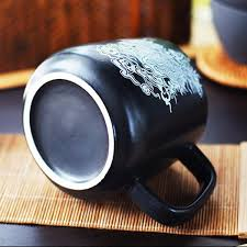 Dragon Coffee Cup Chinese Style Dragon Ceramic Mug For Men Black Coffee Cups
