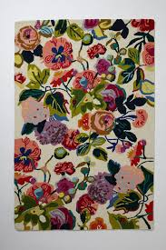 home goods area rugs glorias garden rug has bold floral pattern