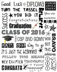 How To Make Graduation Invitations For Free Upcycled Education Graduation Subway Art 2016 Graduation
