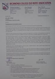 Appointment Letter Sinhala Richmond College