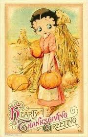 betty boop happy thanksgiving from betty boop