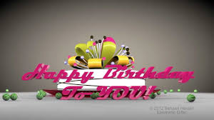 happy birthday to you hd 3d animated video greeting e card cinema