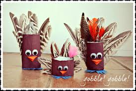 thanksgiving craft toilet paper roll turkeys callie chef