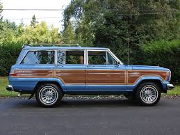 1988 jeep grand wagoneer spinnaker blue jeeps jeep wagoneer
