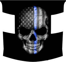 Subdued American Flag With Thin Blue Line Products Tagged