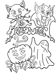 20 halloween coloring pages free printable for kids happy 2014