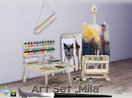 a3ru various drug clutter sims 4 downloads sims 4 cc s the best mila art hobby set by buffsumm sims 4 cc s
