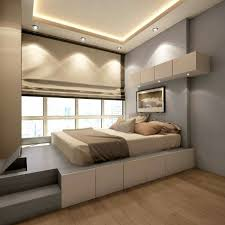 bedroom design full size platform bed with storage and headboard