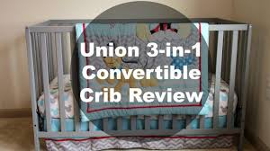 Stork Craft Tuscany 4 In 1 Convertible Crib by Union 3 In 1 Convertible Crib Review Happy Baybees Youtube