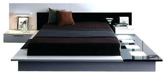 Modern King Platform Bed Modern Platform Bedroom Set Platform Storage Beds Platform