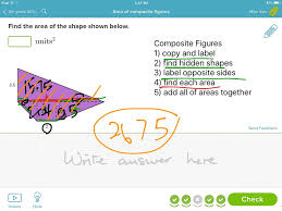 Area Of Compound Shapes Worksheet Showme Area Of Composite Figures