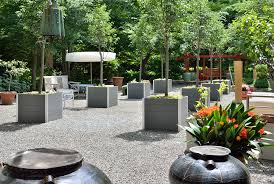 large planters for trees deepstream designs