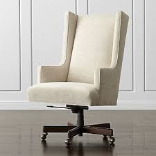 Upholstered Wingback Chair Wingback Chairs Crate And Barrel
