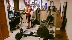 Home Gym by Teen Bodybuilder Home Gym Gaming Desk Setup All In One 2015 Hd