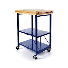 folding kitchen island cart origami folding kitchen island cart with casters 8090466 hsn