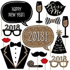 new year items new years party gold photo booth props kit