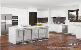 modern white wood kitchen cabinets modern white large kitchen cabinet op19 l01 oppein the