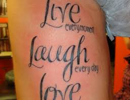 unconditional love tattoo on back photos pictures and sketches