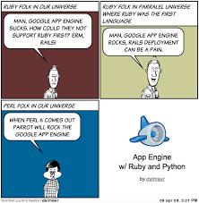 Ruby On Rails Meme - comic on dion almaer s blog