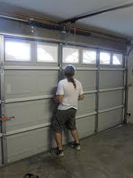 Garage Door Interior Panels Garage Door Garage Door Residential Walk Through Installation