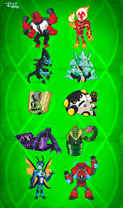 ben 10 original alien force ultimate alien favourites