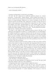 Sample Of Process Essay Writing Of Process Essay