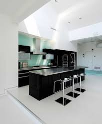 mid century kitchen ideas mid century kitchen design in black and white color ideas black
