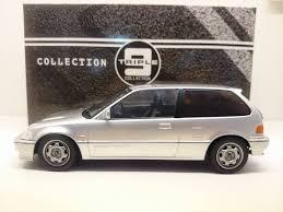 1989 Civic Si Triple 9 1 18 1987 Honda Civic Si Ef3 Silver Made By Ixo