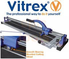 vitrex pro 900mm 3 cut flat bed manual wall floor tile cutter
