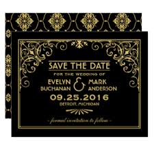 Wedding Save The Dates Vintage Save The Date Cards