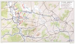 Battle Of The Bulge Map Hyperwar Us Army In Wwii The Lorraine Campaign