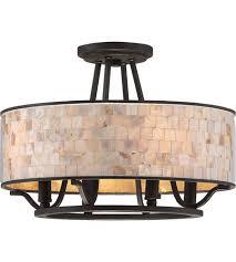 Quoizel Flush Mount Ceiling Light Quoizel As1716pn Aristocrat 4 Light 16 Inch Palladian Bronze Semi
