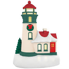 li l lighthouse mini ornament with light keepsake ornaments