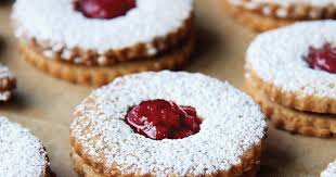 linzer cookies recipe king arthur flour
