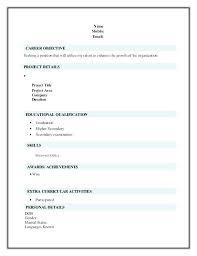 free resume format resume format doc micxikine me